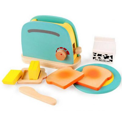 Children Pretend Role Play Toaster Toy Set