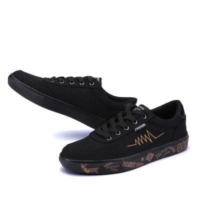 Men Offbeat Graffiti Fashion Canvas ShoesCasual Shoes<br>Men Offbeat Graffiti Fashion Canvas Shoes<br><br>Contents: 1 x Pair of Flat Canvas Shoes<br>Materials: Canvas, Rubber<br>Occasion: Casual, Daily<br>Package Size ( L x W x H ): 31.00 x 21.00 x 11.00 cm / 12.2 x 8.27 x 4.33 inches<br>Package Weights: 0.81kg<br>Seasons: Autumn,Spring,Summer<br>Style: Leisure, Fashion, Comfortable<br>Type: Casual Shoes