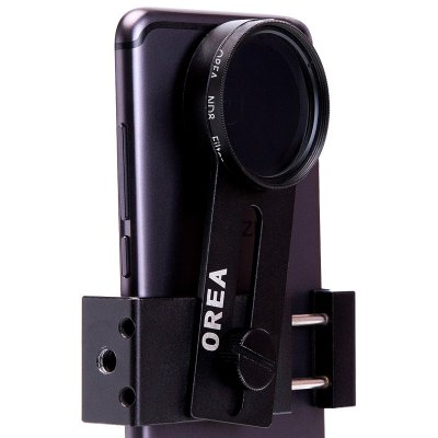 OREA Phone Camera ND8 Filter Lens TripodiPhone Lenses<br>OREA Phone Camera ND8 Filter Lens Tripod<br><br>Material: Metal, Optical glass<br>Package Contents: 1 x ND8 Filter Lens, 1 x Tripod, 1 x Clip Holder<br>Package size (L x W x H): 7.00 x 4.00 x 12.00 cm / 2.76 x 1.57 x 4.72 inches<br>Package weight: 0.1700 kg<br>Product size (L x W x H): 4.00 x 4.00 x 0.60 cm / 1.57 x 1.57 x 0.24 inches<br>Product weight: 0.1500 kg