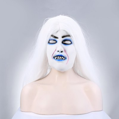 White Hair Hag Latex MaskClassic Toys<br>White Hair Hag Latex Mask<br><br>Appliable Crowd: Girls<br>Materials: Latex<br>Nature: Other<br>Package Contents: 1 x Mask<br>Package size: 25.00 x 20.00 x 4.00 cm / 9.84 x 7.87 x 1.57 inches<br>Package weight: 0.1920 kg<br>Product weight: 0.1700 kg