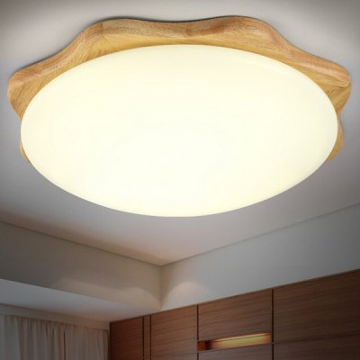 12W 800LM LED Simple Wooden Round Ceiling Light 220VFlush Ceiling Lights<br>12W 800LM LED Simple Wooden Round Ceiling Light 220V<br><br>Features: Round Shape, Remote-Controlled<br>Illumination Field: 8 - 15 Square Meter<br>Luminous Flux: 800lm<br>Package Contents: 1 x Ceiling Light, 1 x Remote Control, 1 x Installation Component Kit<br>Package size (L x W x H): 45.00 x 45.00 x 15.00 cm / 17.72 x 17.72 x 5.91 inches<br>Package weight: 5.0300 kg<br>Product size (L x W x H): 35.00 x 35.00 x 10.00 cm / 13.78 x 13.78 x 3.94 inches<br>Product weight: 4.0000 kg<br>Sheathing Material: Acrylic, Metal<br>Type: Ceiling Lights<br>Voltage (V): 220V<br>Wattage (W): 12<br>Wavelength / CCT: 3000K,6500K