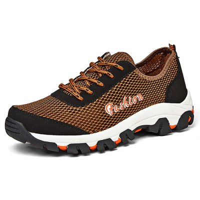 Men Plus Size Mesh Sports ShoesAthletic Shoes<br>Men Plus Size Mesh Sports Shoes<br><br>Closure Type: Lace-Up<br>Features: Anti-slip<br>Gender: Men<br>Package Contents: 1 x Pair of  Shoes<br>Package size: 33.00 x 24.00 x 13.00 cm / 12.99 x 9.45 x 5.12 inches<br>Package weight: 0.9200 kg<br>Product weight: 0.7000 kg<br>Season: Autumn, Winter, Summer, Spring<br>Sole Material: Rubber<br>Upper Height: Middle