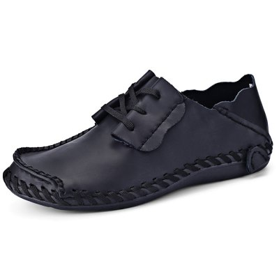 Men Wearable Genuine Leather Casual ShoesCasual Shoes<br>Men Wearable Genuine Leather Casual Shoes<br><br>Contents: 1 x Pair of Shoes<br>Materials: Genuine Leather<br>Occasion: Casual<br>Package Size ( L x W x H ): 33.00 x 24.00 x 13.00 cm / 12.99 x 9.45 x 5.12 inches<br>Package Weights: 0.82kg<br>Seasons: Autumn,Spring,Summer<br>Style: Leisure, Fashion, Comfortable<br>Type: Casual Shoes