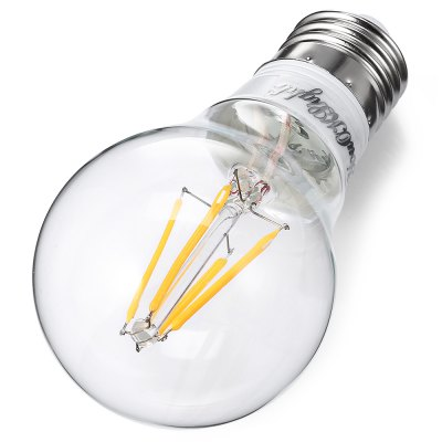 YouOKLight E26 / E27 LED Filament Bulb AC 85 - 265VGlobe bulbs<br>YouOKLight E26 / E27 LED Filament Bulb AC 85 - 265V<br><br>Angle: 360 Degree<br>Available Light Color: Warm White<br>Brand: YouOKLight<br>CCT/Wavelength: 3000K<br>Emitter Types: COB<br>Features: Long Life Expectancy, Energy Saving<br>Function: Commercial Lighting, Home Lighting<br>Holder: E26/E27<br>Lifespan: 30000 Hours<br>Luminous Flux: 400Lm<br>Output Power: 5W<br>Package Contents: 1 x YouOKLight E26 / E27 LED Filament Bulb<br>Package size (L x W x H): 7.00 x 7.00 x 13.00 cm / 2.76 x 2.76 x 5.12 inches<br>Package weight: 0.1000 kg<br>Product size (L x W x H): 6.00 x 6.00 x 11.00 cm / 2.36 x 2.36 x 4.33 inches<br>Product weight: 0.0340 kg<br>Sheathing Material: Aluminum, Glass<br>Type: Ball Bulbs<br>Voltage (V): AC 85-265