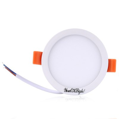 YouOKLight 8W LED Panel Light AC 85 - 265VCeiling Lights<br>YouOKLight 8W LED Panel Light AC 85 - 265V<br><br>Beam Angle(°): 120 degree<br>Body Material: Aluminum<br>Brand: YouOKLight<br>Emitting color: Warm White<br>Is Dimmable: No<br>Luminous Flux: 650Lm<br>Model Number: 32<br>Package Contents: 1 x YouOKLight 8W LED Panel Light<br>Package Size(L x W x H): 17.00 x 12.10 x 4.70 cm / 6.69 x 4.76 x 1.85 inches<br>Package weight: 0.1900 kg<br>Power Source: AC<br>Product Size(L x W x H): 9.00 x 9.00 x 3.50 cm / 3.54 x 3.54 x 1.38 inches<br>Product weight: 0.1050 kg<br>Voltage: 85-265V