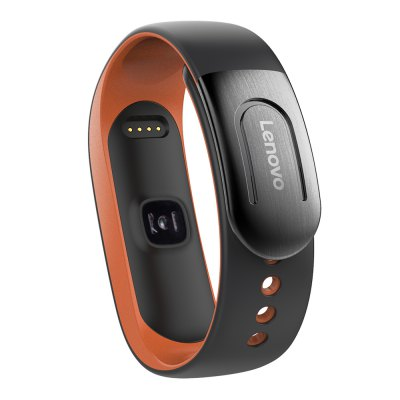 Lenovo HW02 Plus MIO PAI SmartbandSmart Watches<br>Lenovo HW02 Plus MIO PAI Smartband<br><br>Alert type: Vibration<br>Anti-lost: Yes<br>Band material: TPE, TPU<br>Band size: 22 x 1.5 cm<br>Battery  Capacity: 60mAh<br>Bluetooth calling: Callers name display,Phone call reminder<br>Bluetooth Version: Bluetooth 4.0<br>Brand: Lenovo<br>Built-in chip type: NRF51822<br>Case material: ABS,PC<br>Charging Time: About 1.5 Hours<br>Compatability: Android 4.4 or above and iOS 8.0 or above<br>Compatible OS: IOS, Android<br>Dial size: 5 x 1.5 x 1 cm<br>Groups of alarm: 5<br>Health tracker: Heart rate monitor,Sedentary reminder,Sleep monitor<br>IP rating: IP67<br>Language: English,Simplified Chinese<br>Messaging: Message reminder<br>Notification type: Facebook, Skype, Twitter, WhatsApp<br>Operating mode: Touch Key<br>Package Contents: 1 x Lenovo HW02 Plus Smartband, 1 x Chinese-English-Japanese-French Manual, 1 x Charging Cable<br>Package size (L x W x H): 9.20 x 8.30 x 2.20 cm / 3.62 x 3.27 x 0.87 inches<br>Package weight: 0.1050 kg<br>People: Female table,Male table<br>Product size (L x W x H): 22.00 x 1.50 x 1.00 cm / 8.66 x 0.59 x 0.39 inches<br>Product weight: 0.0260 kg<br>RAM: 64K<br>ROM: 512K<br>Screen: OLED<br>Screen resolution: 40 x 72<br>Screen size: 0.42 inch<br>Shape of the dial: Oval<br>Standby time: 5 - 10 days<br>Type of battery: Polymer lithium-ion battery<br>Waterproof: Yes<br>Wearing diameter: 14 - 21cm