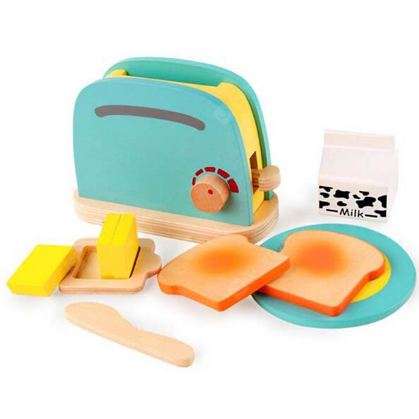 Buy Children Pretend Role Play Toaster Toy Set COLORMIX
