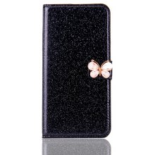 Butterfly Powder PU Leather Case