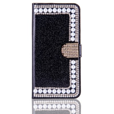 Bling Leather Case for iPhone 7