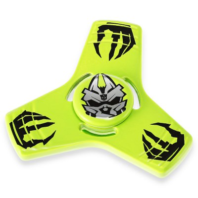 Stylish Robot Pattern Alloy Fidget Tri-spinnerFidget Spinners<br>Stylish Robot Pattern Alloy Fidget Tri-spinner<br><br>Center Bearing Material: Stainless Steel<br>Color: Green<br>Frame material: Alloy<br>Package Contents: 1 x Fidget Spinner, 1 x Box<br>Package size (L x W x H): 9.00 x 6.00 x 1.80 cm / 3.54 x 2.36 x 0.71 inches<br>Package weight: 0.1070 kg<br>Product size (L x W x H): 6.00 x 6.00 x 1.20 cm / 2.36 x 2.36 x 0.47 inches<br>Product weight: 0.0500 kg<br>Type: Triple Blade, Cool