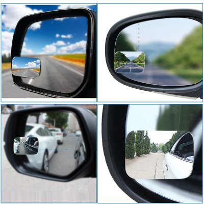Car 360 Degree Rear View MirrorCar Ornaments &amp; Pendant<br>Car 360 Degree Rear View Mirror<br><br>Material: Glass<br>Package Contents: 1 x Car Rear View Mirror<br>Package size (L x W x H): 10.50 x 8.00 x 3.00 cm / 4.13 x 3.15 x 1.18 inches<br>Package weight: 0.0450 kg<br>Product size (L x W x H): 6.40 x 4.60 x 0.30 cm / 2.52 x 1.81 x 0.12 inches<br>Product weight: 0.0200 kg