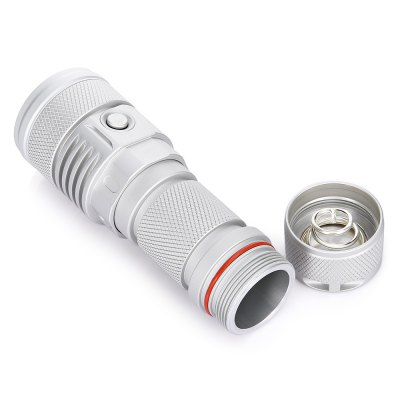 Haikelite SC02 CREE MTG2 Long Shots FlashlightLED Flashlights<br>Haikelite SC02 CREE MTG2 Long Shots Flashlight<br><br>Battery Included or Not: No<br>Battery Quantity: 1<br>Battery Type: 26650<br>Body Material: 6063 Aluminum Alloy<br>Brand: HaikeLite<br>Color: Silver<br>Color Temperature: 5000K<br>Emitters: Cree MTG2<br>Emitters Quantity: 1<br>Feature: Waterproof, Side Switch, Lock-out Function<br>Flashlight size: Mid size<br>Flashlight Type: Handheld<br>Function: Police, Outdoor, Night Riding, Hunting, Household Use, Hiking, Bike, Camping, Cop, EDC, Fishing<br>Light color: Natural White<br>Light Modes: High,Mid,Strobe,Turbo,Ultra low<br>Luminous Flux: 2000Lm<br>Model: SC02<br>Package Contents: 1 x Haikelite SC02 CREE MTG2 Flashlight, 2 x Spare O Ring, 1 x Landyard, 1 x USB Charging Wire, 1 x Package Box<br>Package size (L x W x H): 18.00 x 12.00 x 5.00 cm / 7.09 x 4.72 x 1.97 inches<br>Package weight: 0.3900 kg<br>Power Source: Battery<br>Product size (L x W x H): 13.50 x 4.60 x 3.40 cm / 5.31 x 1.81 x 1.34 inches<br>Product weight: 0.2300 kg<br>Switch Location: Side Switch