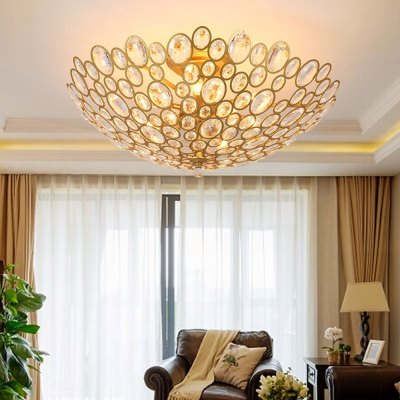 LightMyselfE14 x 9 CrystalTrimmed Pendant Light lightmyself crystal pendant lights pendant lamp modern lighting 7 87xh29 52 inch for dining room hotel room parlor study