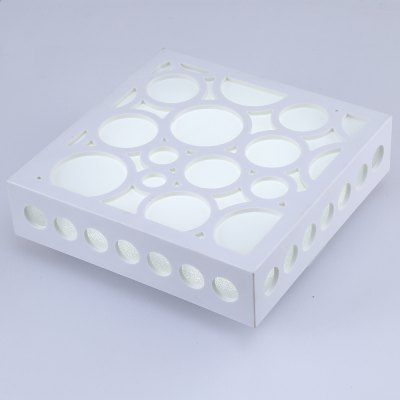 Contracted LED Square Shape Ceiling LightFlush Ceiling Lights<br>Contracted LED Square Shape Ceiling Light<br><br>Features: Square Shape<br>Illumination Field: 10 - 15sqm<br>Luminous Flux: 1200 - 1500lm<br>Optional Light Color: White<br>Package Contents: 1 x Ceiling Light<br>Package size (L x W x H): 32.00 x 32.00 x 12.00 cm / 12.6 x 12.6 x 4.72 inches<br>Package weight: 1.1400 kg<br>Product size (L x W x H): 25.00 x 25.00 x 9.00 cm / 9.84 x 9.84 x 3.54 inches<br>Product weight: 0.8000 kg<br>Sheathing Material: Resin<br>Type: Ceiling Lights<br>Voltage (V): AC110-240<br>Wattage (W): 15<br>Wavelength / CCT: 6000-6500K