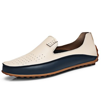 Fashion Microfiber Leather Shoes for MenCasual Shoes<br>Fashion Microfiber Leather Shoes for Men<br><br>Contents: 1 x Pair of Shoes<br>Materials: Microfiber, Rubber<br>Occasion: Casual<br>Package Size ( L x W x H ): 33.00 x 22.00 x 11.00 cm / 12.99 x 8.66 x 4.33 inches<br>Package Weights: 0.57kg<br>Seasons: Autumn,Spring,Summer<br>Style: Fashion, Comfortable<br>Type: Casual Shoes