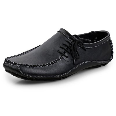 Casual British Style Leather Shoes for MenCasual Shoes<br>Casual British Style Leather Shoes for Men<br><br>Contents: 1 x Pair of Shoes<br>Materials: Leather<br>Occasion: Casual<br>Package Size ( L x W x H ): 33.00 x 22.00 x 11.00 cm / 12.99 x 8.66 x 4.33 inches<br>Package Weights: 0.57kg<br>Seasons: Autumn,Spring,Summer<br>Style: Comfortable, Fashion<br>Type: Casual Shoes