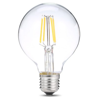 E27 LED Ball Bulb 220VGlobe bulbs<br>E27 LED Ball Bulb 220V<br><br>Available Light Color: Warm White<br>CCT/Wavelength: 2700K<br>Features: Long Life Expectancy, Low Power Consumption<br>Function: Commercial Lighting, Home Lighting<br>Holder: E27<br>Luminous Flux: 350Lm<br>Output Power: 4W<br>Package Contents: 1 x E27 LED Filament Bulb 220V<br>Package size (L x W x H): 9.50 x 9.50 x 13.00 cm / 3.74 x 3.74 x 5.12 inches<br>Package weight: 0.1100 kg<br>Product weight: 0.0400 kg<br>Sheathing Material: Aluminum, Glass<br>Total Emitters: 4<br>Type: Ball Bulbs<br>Voltage (V): 220V