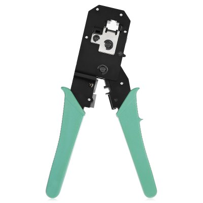 Dual-modular Network PliersOther Instruments<br>Dual-modular Network Pliers<br><br>Package Contents: 1 x Dual-modular Network Pliers<br>Package size (L x W x H): 22.00 x 12.00 x 3.00 cm / 8.66 x 4.72 x 1.18 inches<br>Package weight: 0.2600 kg<br>Product size (L x W x H): 19.30 x 10.50 x 1.50 cm / 7.6 x 4.13 x 0.59 inches<br>Product weight: 0.2480 kg