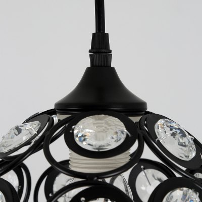 LightMyself YQ6623 - 1D Modern Crystal Pendant LightPendant Light<br>LightMyself YQ6623 - 1D Modern Crystal Pendant Light<br><br>Beam Angle: 360 Degree<br>Brand: LightMyself<br>Bulb Base Type: E27<br>Bulb Included: No<br>Function: Commercial Lighting, Home Lighting, Studio and Exhibition Lighting<br>Package Contents: 1 x LightMyself Crystal Pendant Light, 1 x Accessory Kit, 1 x Ceiling Plate<br>Package size (L x W x H): 25.00 x 25.00 x 25.00 cm / 9.84 x 9.84 x 9.84 inches<br>Package weight: 1.8200 kg<br>Product size (L x W x H): 20.00 x 20.00 x 20.00 cm / 7.87 x 7.87 x 7.87 inches<br>Product weight: 1.0000 kg<br>Quantity of Spots: 1<br>Sheathing Material: Iron, Crystal<br>Style: Modern/Contemporary<br>Type: Pendants<br>Voltage (V): AC 110-120V