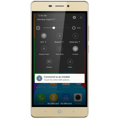 ZTE N939Sc ( Blade A711 ) 4G PhabletCell phones<br>ZTE N939Sc ( Blade A711 ) 4G Phablet<br><br>2G: GSM 1800MHz,GSM 800MHz<br>3G: WCDMA B1 2100MHz,WCDMA B2 1900MHz,WCDMA B3 1800MHz<br>4G LTE: FDD B3 1800MHz,FDD B7 2600MHz,TDD B39 1900MHz,TDD B40 2300MHz,TDD B41 2500MHz<br>Additional Features: Calendar, Calculator, Browser, Bluetooth, Alarm, 4G, 3G, Camera, Fingerprint recognition, People, Fingerprint Unlocking, GPS, Gravity Sensing, Hall Sensor, MP3, MP4, WiFi<br>Back-camera: 13.0MP<br>Battery Capacity (mAh): 3000mAh<br>Battery Type: Non-removable<br>Bluetooth Version: V4.1<br>Brand: ZTE<br>Camera type: Dual cameras (one front one back)<br>CDMA: CDMA 1X 800<br>Cell Phone: 1<br>Cores: 1.5GHz, Octa Core<br>CPU: MSM8939 64bit<br>English Manual : 1<br>External Memory: TF card up to 128GB (not included)<br>Front camera: 5.0MP<br>Google Play Store: Yes<br>I/O Interface: Micro USB Slot, TF/Micro SD Card Slot, Speaker, Micophone, 2 x Nano SIM Slot<br>Language: Multi languag<br>Music format: AAC, MP3, WAV, OGG, AMR<br>Network type: CDMA,FDD-LTE,GSM,TD-SCDMA,TDD-LTE,WCDMA<br>OS: Android 5.1<br>Package size: 30.00 x 25.00 x 4.00 cm / 11.81 x 9.84 x 1.57 inches<br>Package weight: 0.3970 kg<br>Picture format: BMP, JPEG, JPG, GIF, PNG<br>Power Adapter: 1<br>Product size: 15.53 x 7.72 x 0.86 cm / 6.11 x 3.04 x 0.34 inches<br>Product weight: 0.1600 kg<br>RAM: 2GB RAM<br>ROM: 16GB<br>Screen resolution: 1920 x 1080 (FHD)<br>Screen size: 5.5 inch<br>Screen type: Capacitive<br>Sensor: Ambient Light Sensor,E-Compass,Gravity Sensor,Gyroscope,Hall Sensor,Proximity Sensor<br>Service Provider: Unlocked<br>SIM Adapter: 1<br>SIM Card Slot: Dual SIM, Dual Standby<br>SIM Card Type: Nano SIM Card<br>TD-SCDMA: TD-SCDMA 1880-1920MHz/2010-2025MHz<br>Type: 4G Phablet<br>USB Cable: 1<br>Video format: MP4, 3GP<br>WIFI: 802.11b/g/n wireless internet<br>Wireless Connectivity: 4G, A-GPS, 3G, GPS, WiFi, Bluetooth
