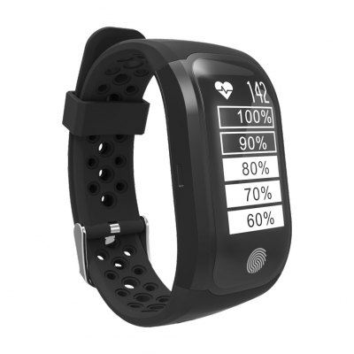 S908 GPS Sports SmartbandSmart Watches<br>S908 GPS Sports Smartband<br><br>Band material: TPU<br>Band size: 24 x 1.8 cm<br>Battery  Capacity: 230mAh<br>Bluetooth calling: Callers name display,Phone call reminder<br>Bluetooth Version: Bluetooth 4.2<br>Case material: ABS,PC<br>Charging Time: About 2hours<br>Compatability: Android 4.3 or above and iOS 8.0 or above<br>Compatible OS: IOS, Android<br>Dial size: 4.8 x 2.5 x 1.3 cm<br>Groups of alarm: 1<br>Health tracker: Heart rate monitor,Pedometer,Sleep monitor<br>IP rating: IP68<br>Messaging: Message reminder<br>Notification: Yes<br>Operating mode: Touch Key<br>Package Contents: 1 x Smartband, 1 x Charging Cable, 1 x English Manual<br>Package size (L x W x H): 16.70 x 11.00 x 3.00 cm / 6.57 x 4.33 x 1.18 inches<br>Package weight: 0.1700 kg<br>People: Female table,Male table<br>Product size (L x W x H): 24.00 x 2.50 x 1.30 cm / 9.45 x 0.98 x 0.51 inches<br>Product weight: 0.0340 kg<br>RAM: 64K<br>ROM: 512K<br>Screen: OLED<br>Shape of the dial: Rectangle<br>Standby time: 20 days<br>Type of battery: Lithium-ion polymer battery<br>Waterproof: Yes
