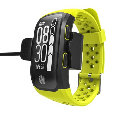 S908 GPS Sports SmartbandSmart Watches<br>S908 GPS Sports Smartband<br><br>Band material: TPU<br>Band size: 24 x 1.8 cm<br>Battery  Capacity: 230mAh<br>Bluetooth calling: Callers name display,Phone call reminder<br>Bluetooth Version: Bluetooth 4.2<br>Case material: ABS,PC<br>Charging Time: About 2hours<br>Compatability: Android 4.3 or above and iOS 8.0 or above<br>Compatible OS: Android, IOS<br>Dial size: 4.8 x 2.5 x 1.3 cm<br>Groups of alarm: 1<br>Health tracker: Heart rate monitor,Pedometer,Sleep monitor<br>IP rating: IP68<br>Messaging: Message reminder<br>Notification: Yes<br>Operating mode: Touch Key<br>Other Function: GPS<br>Package Contents: 1 x Smartband, 1 x Charging Cable, 1 x English Manual<br>Package size (L x W x H): 16.70 x 11.00 x 3.00 cm / 6.57 x 4.33 x 1.18 inches<br>Package weight: 0.1700 kg<br>People: Female table,Male table<br>Product size (L x W x H): 24.00 x 2.50 x 1.30 cm / 9.45 x 0.98 x 0.51 inches<br>Product weight: 0.0340 kg<br>RAM: 64K<br>ROM: 512K<br>Screen: OLED<br>Shape of the dial: Rectangle<br>Standby time: 20 days<br>Type of battery: Lithium-ion polymer battery<br>Waterproof: Yes