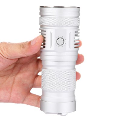 Haikelite MT01 CREE XHP50 V2 Long Shots FlashlightLED Flashlights<br>Haikelite MT01 CREE XHP50 V2 Long Shots Flashlight<br><br>Battery Included or Not: No<br>Battery Quantity: 3<br>Battery Type: 18650, 18700<br>Body Material: 6063 Aluminum Alloy<br>Brand: HaikeLite<br>Color: Silver<br>Color Temperature: 5000K<br>Emitters Quantity: 1<br>Feature: Waterproof, Compact<br>Flashlight size: Mid size<br>Flashlight Type: Handheld<br>Function: Walking, Vehicle Light, Rescue, Outdoor, Night Riding, EDC, Camping, Bike, Army<br>Light color: Neutral White<br>Luminous Flux: 2500Lm<br>Model: MT01<br>Package Contents: 1 x Haikelite MT01 CREE XHP50 V2 Flashlight, 2 x Spare O-ring, 1 x Landyard, 1 x Package Box<br>Package size (L x W x H): 19.00 x 11.00 x 7.00 cm / 7.48 x 4.33 x 2.76 inches<br>Package weight: 0.4900 kg<br>Power Source: Battery<br>Product size (L x W x H): 13.50 x 5.10 x 4.50 cm / 5.31 x 2.01 x 1.77 inches<br>Product weight: 0.2800 kg<br>Switch Location: Side Switch