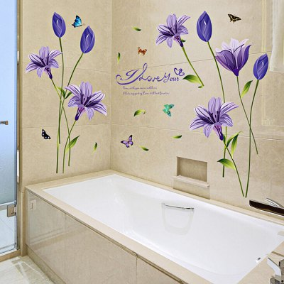 Purple Lily Painting Wall Sticker WallpaperWall Stickers<br>Purple Lily Painting Wall Sticker Wallpaper<br><br>Art Style: Plane Wall Stickers<br>Artists: Others<br>Color Scheme: Others<br>Functions: Decorative Wall Stickers<br>Hang In/Stick On: Bedrooms,Living Rooms<br>Material: Self-adhesive Plastic, Vinyl(PVC)<br>Package Contents: 1 x Wall Sticker<br>Package size (L x W x H): 62.00 x 0.40 x 92.00 cm / 24.41 x 0.16 x 36.22 inches<br>Package weight: 0.1720 kg<br>Product size (L x W x H): 60.00 x 0.20 x 90.00 cm / 23.62 x 0.08 x 35.43 inches<br>Product Type: Others<br>Product weight: 0.1500 kg<br>Sizes: Others<br>Subjects: Botanical