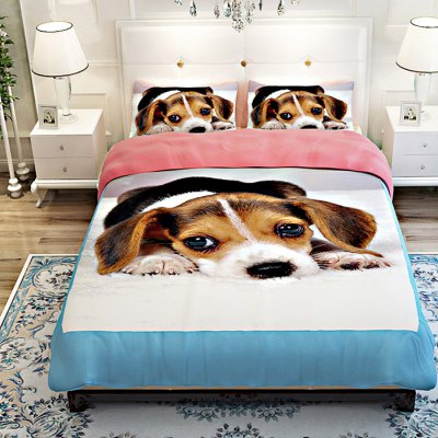 5-piece Polyester Bedding Set Labrador PatternBedding Sets<br>5-piece Polyester Bedding Set Labrador Pattern<br><br>Package Contents: 2 x Pillowcase, 1 x Duvet Cover, 1 x Flat Sheet, 1 x Fitted Sheet<br>Package size (L x W x H): 40.00 x 30.00 x 4.00 cm / 15.75 x 11.81 x 1.57 inches<br>Package weight: 2.2500 kg<br>Pattern Type: Animal<br>Product weight: 2.2000 kg<br>Type: Double