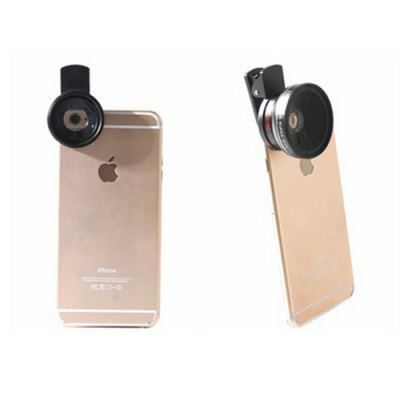 LIEQI LQ - 027 Camera 0.45X Super Wide Angle Macro LensiPhone Lenses<br>LIEQI LQ - 027 Camera 0.45X Super Wide Angle Macro Lens<br><br>Brand: LIEQI<br>Lens type: Macro Lens,Wide-Angle-Lens<br>Magnification ?Wide Angle Lens ): 0.45X<br>Material: Optical glass<br>Package Contents: 1 x Wide Angle Macro Lens, 1 x Clip, 1 x Pouch, 2 x Lens Case<br>Package size (L x W x H): 11.60 x 10.10 x 5.90 cm / 4.57 x 3.98 x 2.32 inches<br>Package weight: 0.2180 kg<br>Product size (L x W x H): 4.00 x 4.00 x 2.30 cm / 1.57 x 1.57 x 0.91 inches<br>Product weight: 0.1980 kg