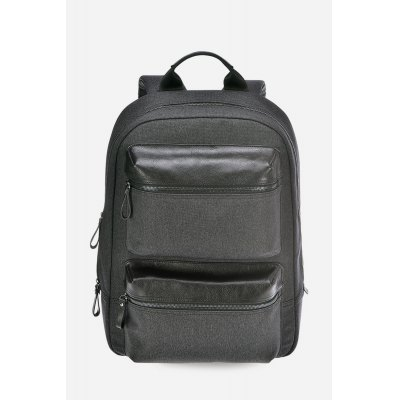 Men Leather Splicing Zip Commuter BackpackMens Bags<br>Men Leather Splicing Zip Commuter Backpack<br><br>Closure Type: Zip<br>Color: Gray<br>Material: Genuine Leather, Polyester<br>Package Size(L x W x H): 33.50 x 19.00 x 44.00 cm / 13.19 x 7.48 x 17.32 inches<br>Package weight: 0.6500 kg<br>Packing List: 1 x Backpack<br>Product Size(L x W x H): 31.50 x 17.00 x 42.00 cm / 12.4 x 6.69 x 16.54 inches<br>Product weight: 0.6020 kg<br>Style: Fashion<br>Type: Backpacks