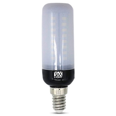 YWXLight 5PCS E14 6W 3000K 600Lm 46 5736SMD Corn BulbCorn Bulbs<br>YWXLight 5PCS E14 6W 3000K 600Lm 46 5736SMD Corn Bulb<br><br>Available Light Color: Warm White<br>Brand: YWXLight<br>CCT/Wavelength: 3000K<br>Features: Low Power Consumption, Long Life Expectancy<br>Function: Home Lighting, Commercial Lighting<br>Holder: E14<br>Luminous Flux: 600Lm<br>Output Power: 6W<br>Package Contents: 5 x YWXLight E14 Corn Bulb<br>Package size (L x W x H): 15.00 x 11.00 x 3.50 cm / 5.91 x 4.33 x 1.38 inches<br>Package weight: 0.1750 kg<br>Product size (L x W x H): 10.50 x 2.50 x 2.50 cm / 4.13 x 0.98 x 0.98 inches<br>Product weight: 0.0300 kg<br>Sheathing Material: Plastic, Aluminum<br>Total Emitters: 46<br>Type: Corn Bulbs<br>Voltage (V): AC 220-240