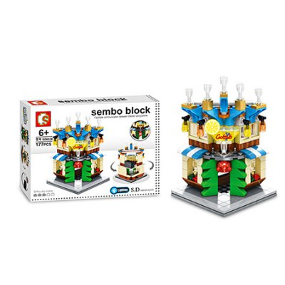 Sembo Street View Cocktail Bar Building Blocks Bricks ToyBlock Toys<br>Sembo Street View Cocktail Bar Building Blocks Bricks Toy<br><br>Brand: Sembo<br>Gender: Unisex<br>Materials: ABS<br>Package Contents: 1 x Sembo Building Blocks Toy<br>Package size: 25.50 x 18.50 x 5.50 cm / 10.04 x 7.28 x 2.17 inches<br>Package weight: 0.3150 kg<br>Product weight: 0.1440 kg<br>Suitable Age: Kid<br>Theme: Buildings<br>Type: Building