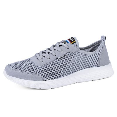 Light Weight Breathable Mesh Shoes for MenCasual Shoes<br>Light Weight Breathable Mesh Shoes for Men<br><br>Contents: 1 x Pair of Shoes<br>Materials: MD, Mesh<br>Occasion: Casual, Daily<br>Package Size ( L x W x H ): 33.00 x 22.00 x 11.00 cm / 12.99 x 8.66 x 4.33 inches<br>Package Weights: 0.47kg<br>Seasons: Autumn,Spring,Summer<br>Style: Leisure, Fashion, Comfortable<br>Type: Casual Shoes