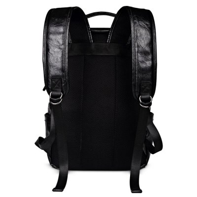 Fashionable PU Leather Backpack for MenMens Bags<br>Fashionable PU Leather Backpack for Men<br><br>Closure Type: Zipper &amp; Hasp<br>Color: Black<br>Material: PU<br>Package Size(L x W x H): 32.00 x 44.00 x 17.00 cm / 12.6 x 17.32 x 6.69 inches<br>Package weight: 1.1700 kg<br>Packing List: 1 x Backpack<br>Product Size(L x W x H): 30.00 x 42.00 x 15.00 cm / 11.81 x 16.54 x 5.91 inches<br>Product weight: 1.1000 kg<br>Style: Fashion<br>Type: Backpacks