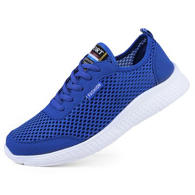 Light Weight Mesh Sports Shoes for WomenWomens Sneakers<br>Light Weight Mesh Sports Shoes for Women<br><br>Contents: 1 x Pair of Shoes<br>Materials: MD, Mesh<br>Occasion: Casual, Daily<br>Package Size ( L x W x H ): 33.00 x 22.00 x 11.00 cm / 12.99 x 8.66 x 4.33 inches<br>Package Weights: 0.47kg<br>Seasons: Autumn,Spring,Summer<br>Style: Leisure, Fashion, Comfortable<br>Type: Casual Shoes