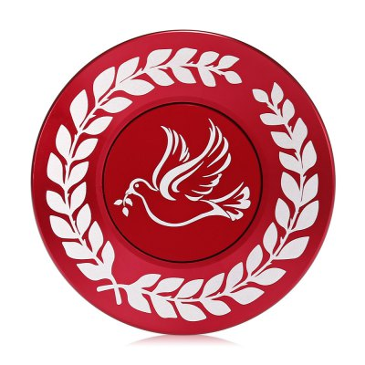 Peace Dove Ethnic Style Aluminum Alloy Fidget SpinnerFidget Spinners<br>Peace Dove Ethnic Style Aluminum Alloy Fidget Spinner<br><br>Center Bearing Material: Stainless Steel<br>Color: Red<br>Frame material: Aluminum Alloy<br>Package Contents: 1 x Fidget Spinner<br>Package size (L x W x H): 8.50 x 8.50 x 1.80 cm / 3.35 x 3.35 x 0.71 inches<br>Package weight: 0.0980 kg<br>Product size (L x W x H): 6.00 x 6.00 x 1.10 cm / 2.36 x 2.36 x 0.43 inches<br>Product weight: 0.0560 kg