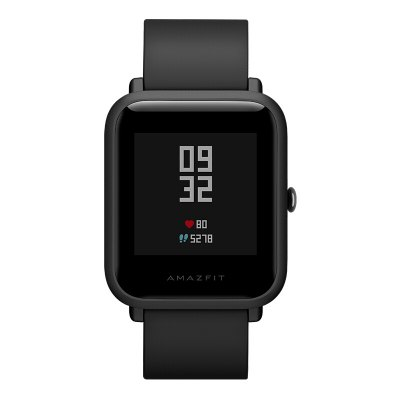 Original Xiaomi AMAZIFT Smartwatch - CHINESE VERSION BLACK-prevente