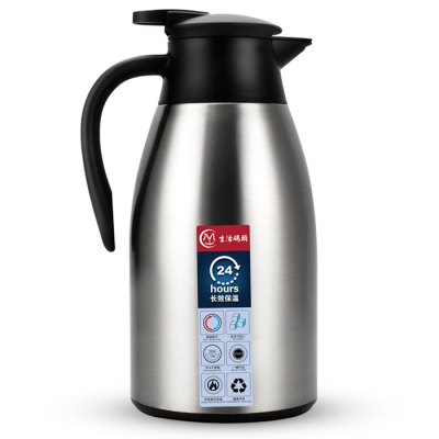 Stainless Steel Dust-proof Thermal Coffee CarafeWater Cup &amp; Bottle<br>Stainless Steel Dust-proof Thermal Coffee Carafe<br><br>Material: Stainless Steel<br>Package Contents: 1 x Thermal Coffee Carafe<br>Package size (L x W x H): 15.00 x 15.00 x 30.00 cm / 5.91 x 5.91 x 11.81 inches<br>Package weight: 0.9800 kg<br>Product size (L x W x H): 13.50 x 13.50 x 28.50 cm / 5.31 x 5.31 x 11.22 inches<br>Product weight: 0.7900 kg