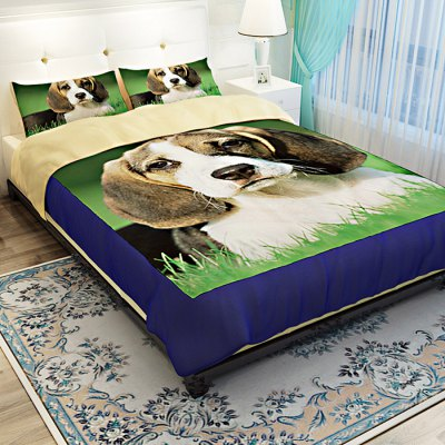 5-piece Polyester Bedding Set Pet Dog PatternBedding Sets<br>5-piece Polyester Bedding Set Pet Dog Pattern<br><br>Package Contents: 2 x Pillowcase, 1 x Duvet Cover, 1 x Flat Sheet, 1 x Fitted Sheet<br>Package size (L x W x H): 40.00 x 30.00 x 4.00 cm / 15.75 x 11.81 x 1.57 inches<br>Package weight: 2.2500 kg<br>Pattern Type: Animal<br>Product weight: 2.2000 kg<br>Type: Double