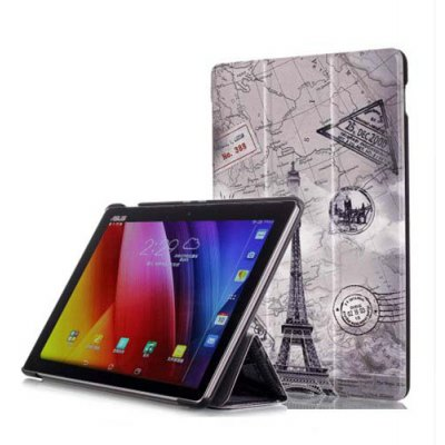 Iron Tower Stand Folding Case for ASUS ZenPad 3S 10 Z500M