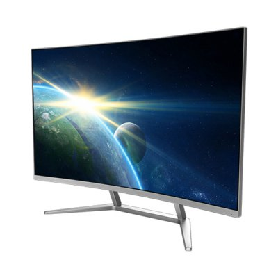 Le Saturn 582500G 31.5 inch Curved All-in-one PC DesktopAll-in-One Computers<br>Le Saturn 582500G 31.5 inch Curved All-in-one PC Desktop<br><br>3.5mm Headphone Jack: Yes<br>AC adapter: 100-240V / 19V 13.15A<br>Bluetooth: 4.0<br>Brand: Le<br>Caching: 6MB<br>Charger: 1<br>Computer: 1<br>Core: 3.0GHz, Quad Core<br>CPU: Intel Core i5 7400<br>CPU Brand: Intel<br>CPU Series: Intel Core<br>DC Jack: Yes<br>Display Ratio: 16:9<br>English Manual : 1<br>Graphics Capacity: 2G<br>Graphics Card Frequency: 1178MHz - 1241MHz<br>Graphics Chipset: NVIDIA GeForce GTX960<br>Graphics Type: Graphics Card<br>Hard Disk Interface Type: SATA<br>Hard Disk Memory: 500G HDD<br>LAN Card: Yes<br>Largest RAM Capacity: 16GB<br>Model: Saturn 582500G<br>OS: DOS<br>Package size: 81.50 x 27.50 x 54.50 cm / 32.09 x 10.83 x 21.46 inches<br>Package weight: 13.5500 kg<br>Power Consumption: 65W<br>Process Technology: 14nm<br>Product size: 71.20 x 20.80 x 50.70 cm / 28.03 x 8.19 x 19.96 inches<br>Product weight: 8.6000 kg<br>RAM: 8GB<br>RAM Slot Quantity: Two<br>RAM Type: DDR4L<br>RJ45 connector: Yes<br>Screen resolution: 1920 x 1080 (FHD)<br>Screen size: 31.5 inch<br>Screen type: VA<br>Standard HDMI: Yes<br>Threading: 4<br>USB Host: Yes (4 x USB 3.0 + 2 x USB 2.0)<br>WIFI: 802.11b/g/n wireless internet<br>WLAN Card: Yes