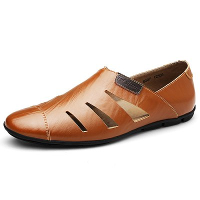 Casual Hollow Shoes for MenCasual Shoes<br>Casual Hollow Shoes for Men<br><br>Contents: 1 x Pair of Shoes<br>Materials: Leather, Rubber<br>Occasion: Casual<br>Package Size ( L x W x H ): 33.00 x 22.00 x 11.00 cm / 12.99 x 8.66 x 4.33 inches<br>Package Weights: 0.67kg<br>Seasons: Autumn,Spring,Summer<br>Style: Leisure, Fashion, Comfortable<br>Type: Casual Shoes