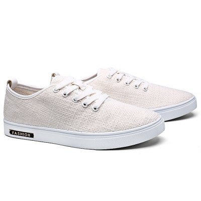Comfortable / Breathable Casual Shoes for MenCasual Shoes<br>Comfortable / Breathable Casual Shoes for Men<br><br>Closure Type: Lace-Up<br>Features: Anti-slip, Breathable, Durable, Shock-absorbing<br>Gender: Men<br>Highlights: Breathable<br>Package Contents: 1 x Pair of Shoes<br>Package size: 31.00 x 21.00 x 11.00 cm / 12.2 x 8.27 x 4.33 inches<br>Package weight: 0.8400 kg<br>Product weight: 0.6000 kg<br>Season: Spring, Autumn, Summer<br>Sole Material: Rubber