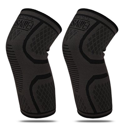 WOSAWE BC303 Elastic Anti-slip Sports Knee Support GuardSports Protective Gear<br>WOSAWE BC303 Elastic Anti-slip Sports Knee Support Guard<br><br>Brand: WOSAWE<br>Color: Black<br>Package Content: 1 x WOSAWE BC303 Pair of Knee Support<br>Package size: 29.50 x 19.00 x 1.00 cm / 11.61 x 7.48 x 0.39 inches<br>Package weight: 0.0950 kg<br>Product size: 27.50 x 16.50 x 0.50 cm / 10.83 x 6.5 x 0.2 inches<br>Product weight: 0.0600 kg<br>Size: One Size<br>Target User: Unisex<br>Type: Knee Pad
