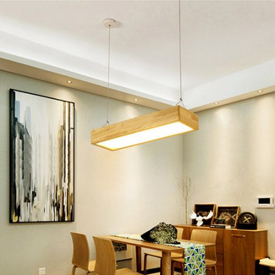 Nordic Style Adjustable Pendant Light 220VPendant Light<br>Nordic Style Adjustable Pendant Light 220V<br><br>Available Light Color: Warm White,White<br>Beam Angle: 180 Degree<br>Bulb Included: No<br>CCT/Wavelength: 3000K,6500K<br>Function: Home Lighting<br>Illumination Field: 6 - 9sqm<br>Luminous Flux: 1400lm<br>Output Power: 18W<br>Package Contents: 1 x Pendant Light, 1 x Set of Install Accessory, 1 x Remote Controller<br>Package size (L x W x H): 70.00 x 30.00 x 15.00 cm / 27.56 x 11.81 x 5.91 inches<br>Package weight: 5.0500 kg<br>Product size (L x W x H): 60.00 x 20.00 x 10.00 cm / 23.62 x 7.87 x 3.94 inches<br>Product weight: 4.0000 kg<br>Sheathing Material: Acrylic, Wood<br>Style: Trendy, Modern/Contemporary<br>Type: Pendants<br>Voltage (V): AC 220