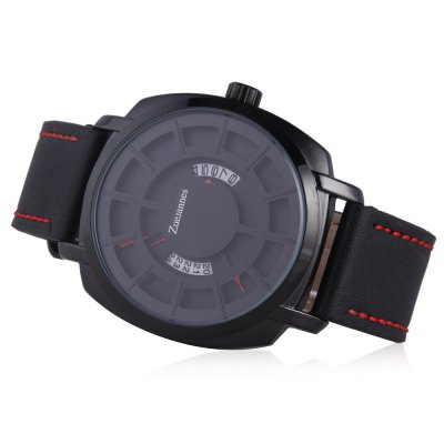 ZUEJANNES 3008G Fashion Men WristwatchMens Watches<br>ZUEJANNES 3008G Fashion Men Wristwatch<br><br>Available Color: Black,White<br>Band material: PU<br>Band size: 25.5 x 2.2cm<br>Case material: Alloy<br>Clasp type: Pin buckle<br>Dial size: 4.5 x 4.5 x 1.3cm<br>Movement type: Quartz watch<br>Package Contents: 1 x Wristwatch<br>Package size (L x W x H): 27.50 x 6.50 x 3.30 cm / 10.83 x 2.56 x 1.3 inches<br>Package weight: 0.1130 kg<br>Product size (L x W x H): 25.50 x 4.50 x 1.30 cm / 10.04 x 1.77 x 0.51 inches<br>Product weight: 0.0730 kg<br>Shape of the dial: Round<br>Watch style: Fashion<br>Watches categories: Men
