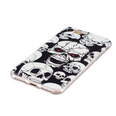 TPU Luminous Skull Printing Soft Case Cover for iPhone 7iPhone Cases/Covers<br>TPU Luminous Skull Printing Soft Case Cover for iPhone 7<br><br>Compatible for Apple: iPhone 7<br>Features: Anti-knock, Back Cover<br>Material: TPU<br>Package Contents: 1 x Phone Case<br>Package size (L x W x H): 16.00 x 8.00 x 2.00 cm / 6.3 x 3.15 x 0.79 inches<br>Package weight: 0.0300 kg<br>Product size (L x W x H): 14.00 x 7.00 x 1.00 cm / 5.51 x 2.76 x 0.39 inches<br>Product weight: 0.0150 kg<br>Style: Glow in the Dark, Pattern