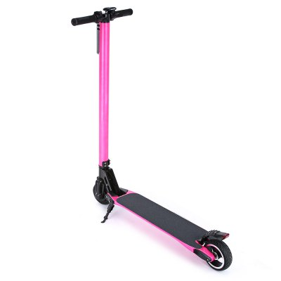 Carbon Fiber 6600mAh 5.5 inch Tire Folding Electric Scooter Richmond The prices of things