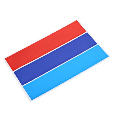 3 Color Automobile Car Grille Sticker for BMWCar Stickers<br>3 Color Automobile Car Grille Sticker for BMW<br><br>Package Contents: 1 x Car Sticker<br>Package size (L x W x H): 27.30 x 17.80 x 0.20 cm / 10.75 x 7.01 x 0.08 inches<br>Package weight: 0.0490 kg<br>Product size (L x W x H): 26.30 x 16.80 x 0.10 cm / 10.35 x 6.61 x 0.04 inches<br>Product weight: 0.0190 kg<br>Type: Car Stickers